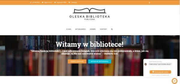 bibliotekaolesno.pl