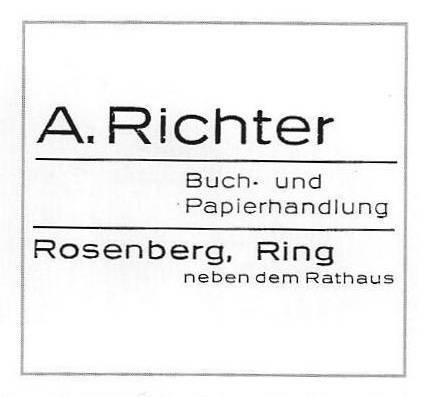 A. Richter Buch & Papier-Handlungung