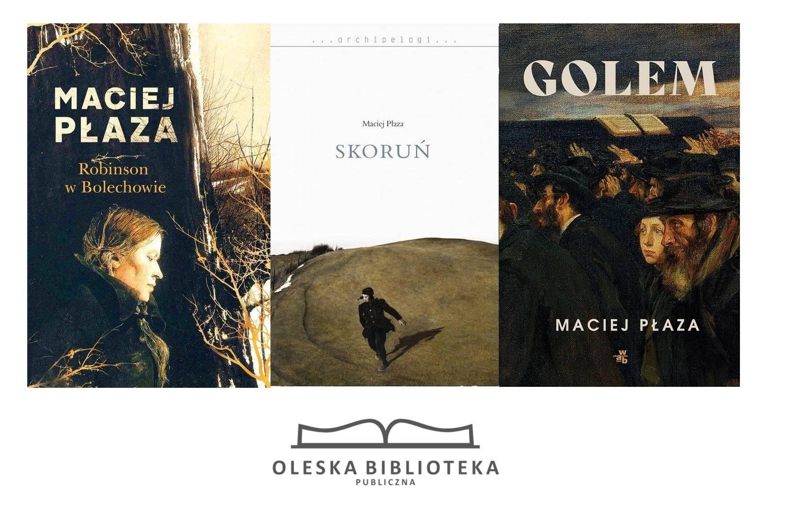 Maciej Płaza - książki