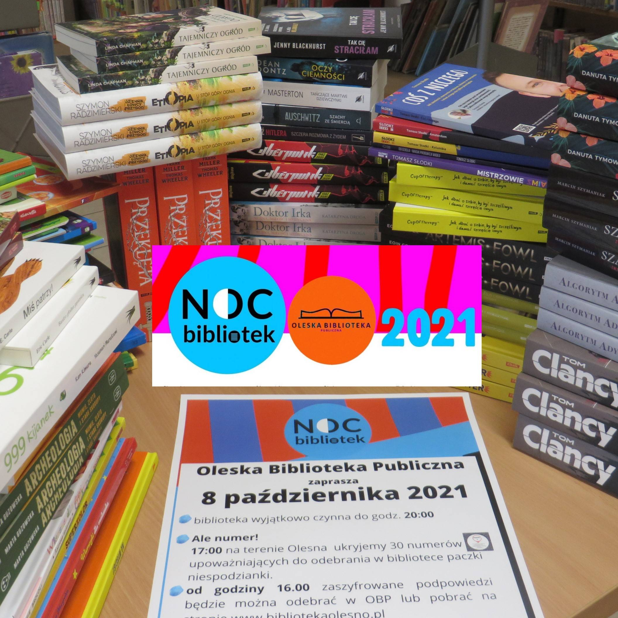 Noc Bibliotek2021 - nagrody