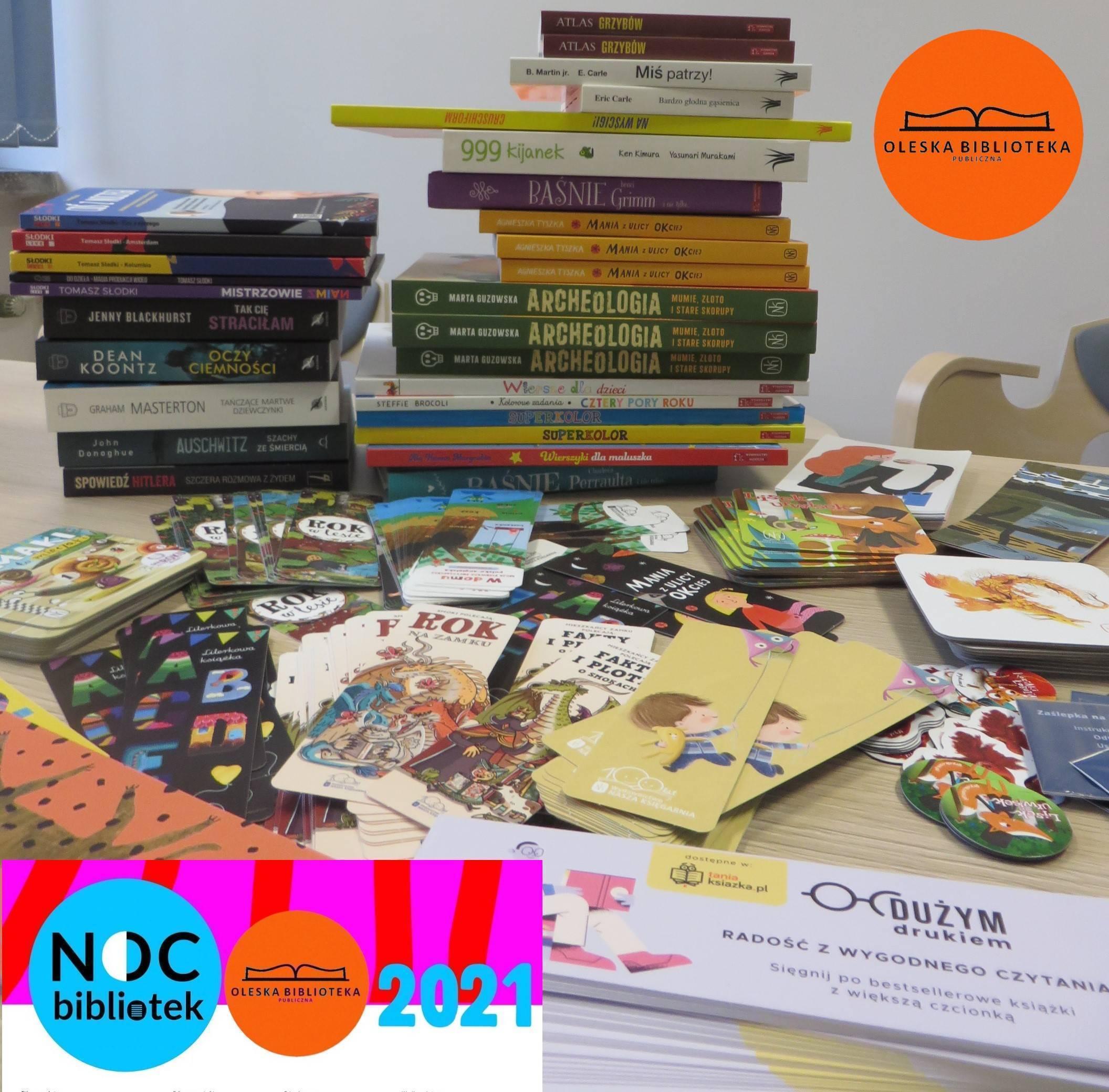 Nagrody Nocy Bibliotek 2021