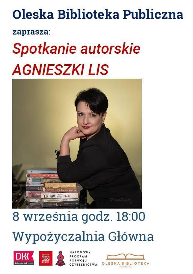 Spotkanie autorskie Agnieszki Lis