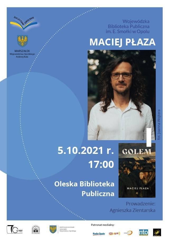 Maciej Płaza - spotkanie autorskie