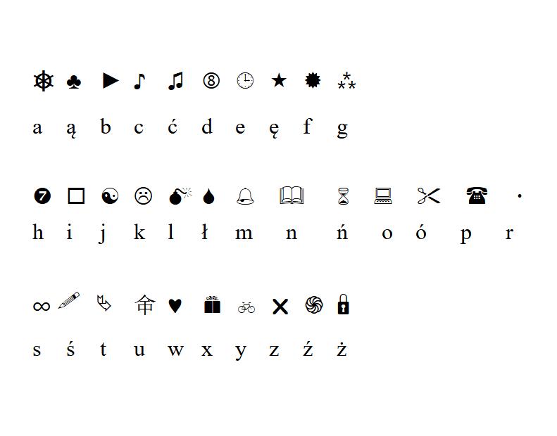 Klucz do szyfru